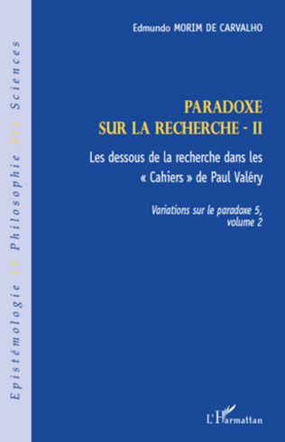Couverture Paradoxe sur la recherche II