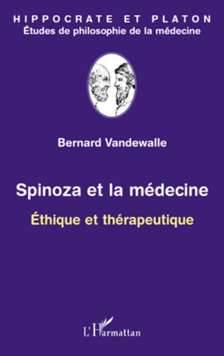 Couverture Spinoza et la médecine