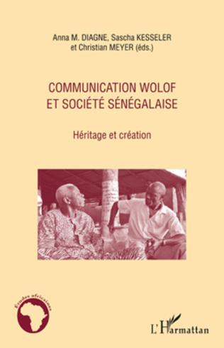 Couverture Communication wolof et société sénégalaise