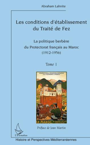 Couverture Les conditions d'établissement du Traité de fez