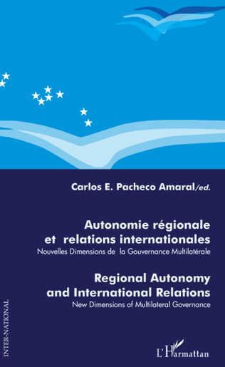 Couverture AUTONOMIE REGIONALE ET RELATIONS INTERNATIONALES