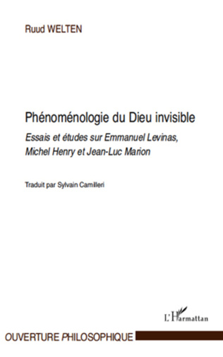 Couverture Phénoménologie du Dieu invisible