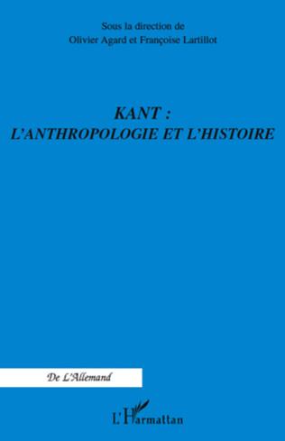 Couverture Kant : l'anthropologie et l'histoire