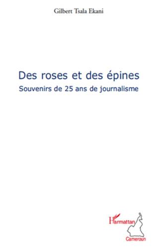 Couverture Des roses et des épines