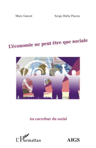 Couverture L'économie ne peut être que sociale