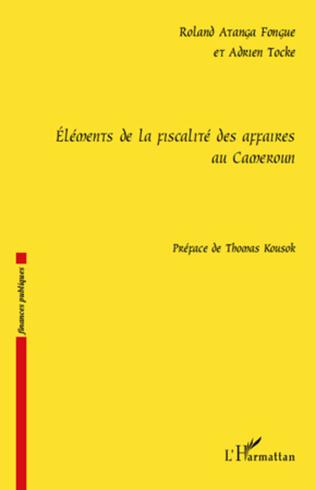 Couverture Eléments de la fiscalité des affaires au Cameroun