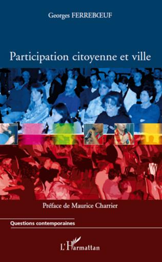 Couverture Participation citoyenne et ville