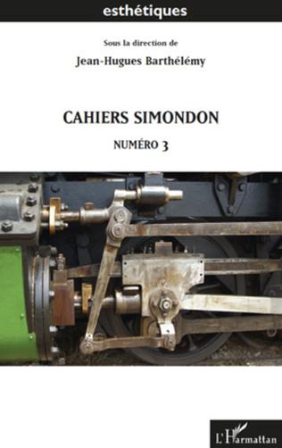 Couverture Cahiers Simondon