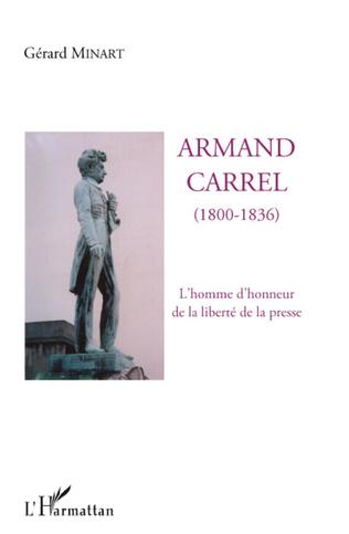 Couverture Armand Carrel (1800-1836)