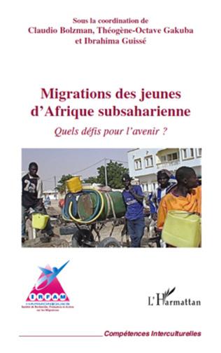 Couverture Migrations des jeunes d'Afrique subsaharienne