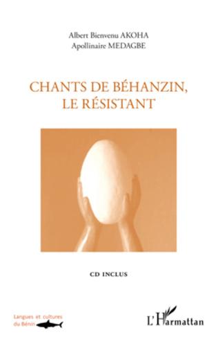 Couverture Chants de Béhanzin, le résistant