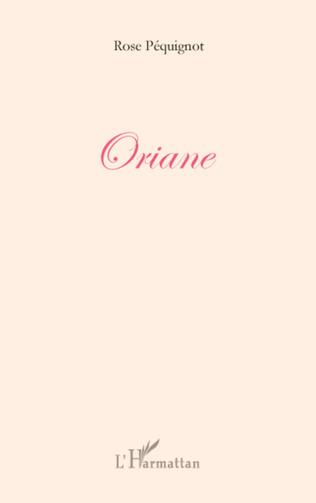 Couverture ORIANE
