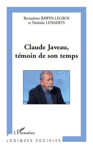 Couverture Claude Javeau, témoin de son temps