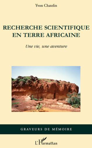 Couverture Recherche scientifique en terre africaine