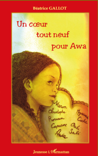 Couverture Un coeur tout neuf pour Awa