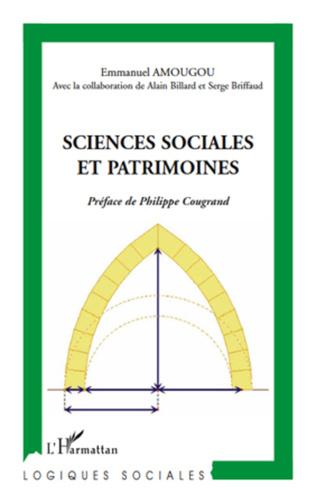 Couverture Sciences sociales et patrimoines