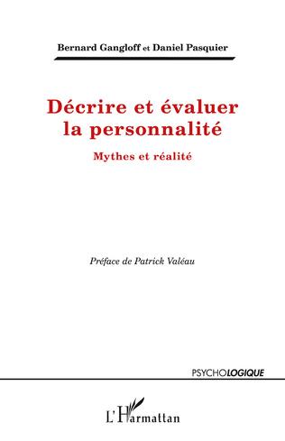 Couverture Décrire et évaluer la personnalité