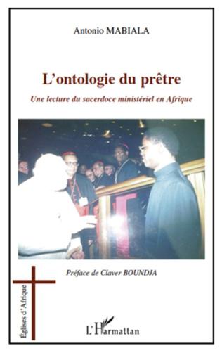 Couverture L'ontologie du prêtre