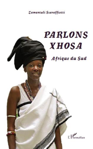 Couverture Parlons xhosa Afrique du Sud