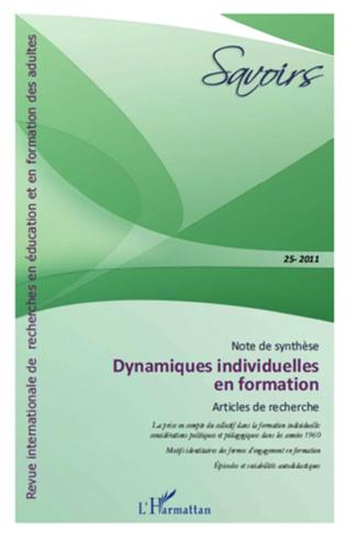 Couverture Dynamiques individuelles en formation