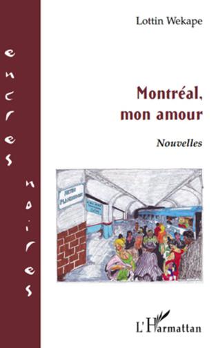 Couverture Montréal, mon amour   NOUVELLES