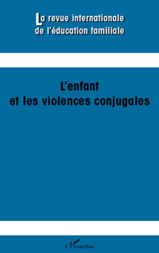 Couverture L'enfant et les violences conjugales