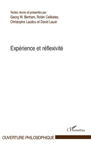 Couverture Expérience et réflexivité