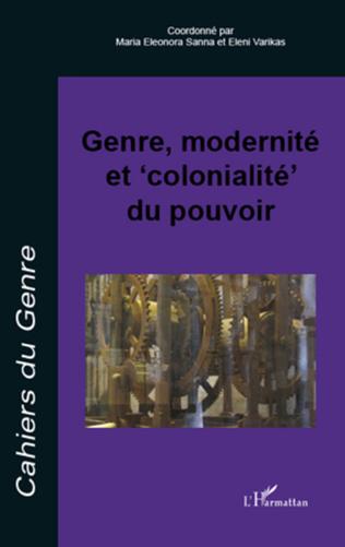 Couverture Genre, modernité et 'colonialité' du pouvoir