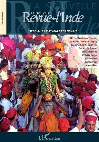 Couverture La Nouvelle revue de l'Inde 5