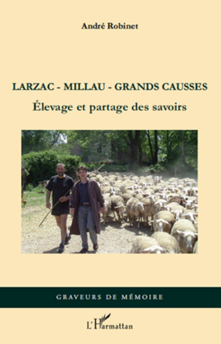 Couverture Larzac-Millau-Grands Causses