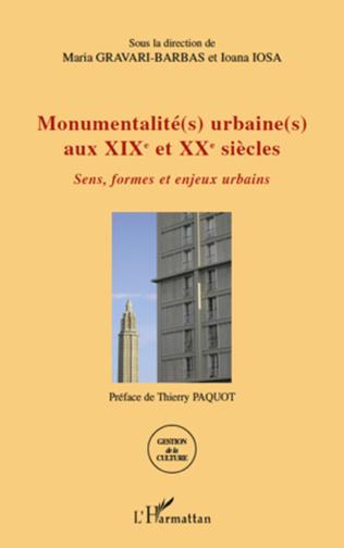 Couverture Monumentalité(s) urbaine(s) aux XIXe et XXe siècles