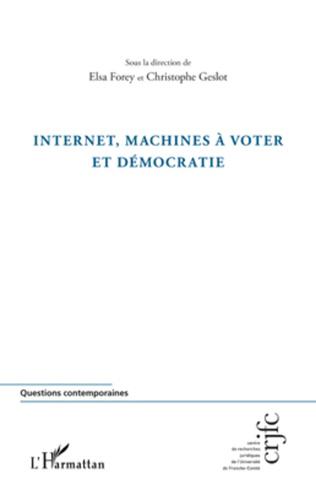 Couverture Internet, machines à voter et démocratie