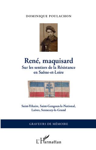 Couverture René, maquisard