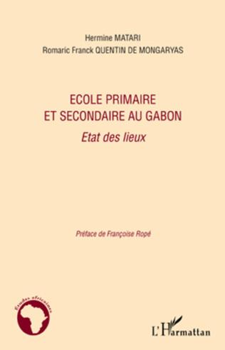 Couverture Ecole primaire et secondaire au Gabon
