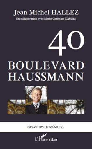 Couverture 40 boulevard Haussmann