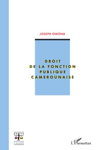Couverture Droit de la fonction publique camerounaise