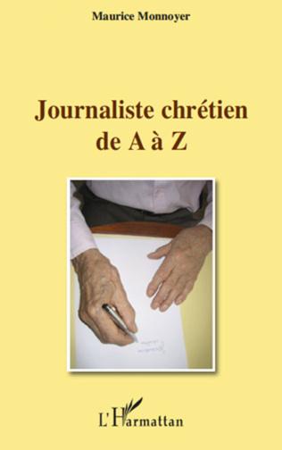 Couverture Journaliste chrétien de A à Z