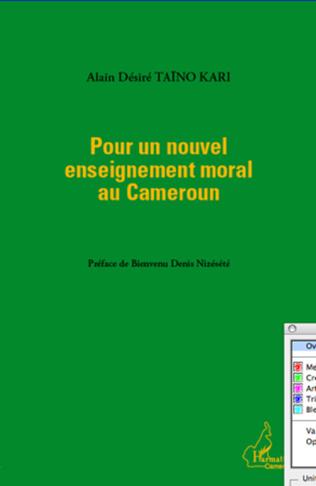 Couverture Pour un nouvel enseignement moral au Cameroun
