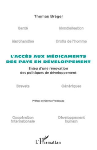 Couverture L'accès aux médicaments des pays en développement