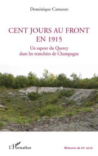 Couverture Cent jours au front en 1915