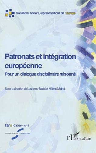 Couverture Patronats et intégration européenne