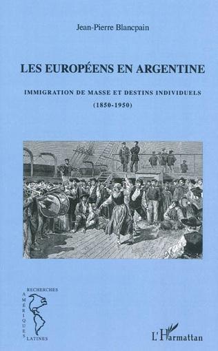 Couverture Les européens en Argentine