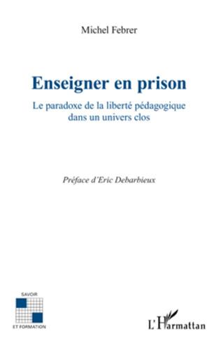 Couverture Enseigner en prison