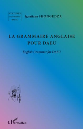 Couverture La grammaire anglaise pour DAEU