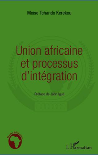 Couverture Union africaine et processus d'intégration