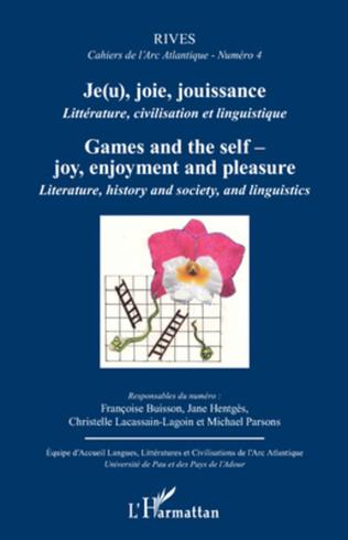 Couverture Je(u), joie, jouissance