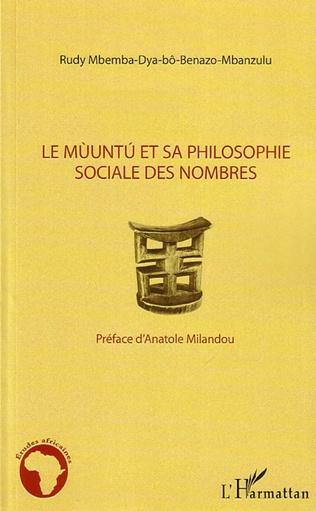 Couverture Mùuntu et sa philosophie sociale des nombres