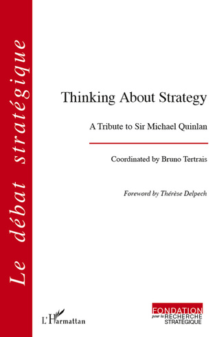 Couverture Thinking About Strategy