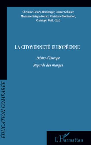 Couverture La citoyenneté européenne