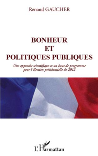 Couverture Bonheur et politiques publiques